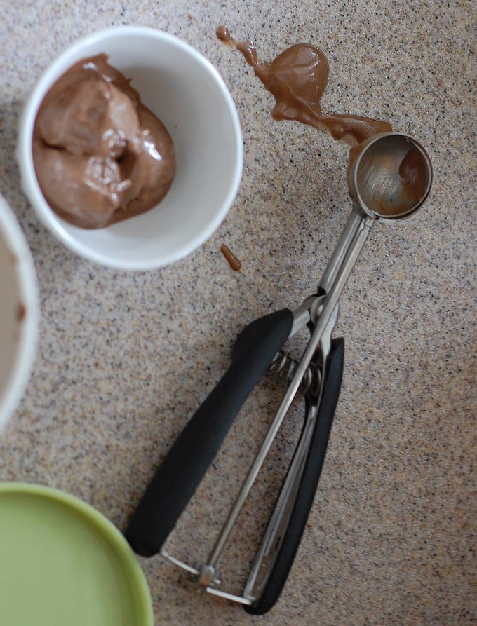 Chocolate Pecan Vegan Ice Cream