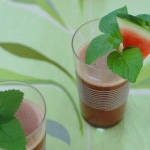 Watermelon Lemon Balm Mint Cooler