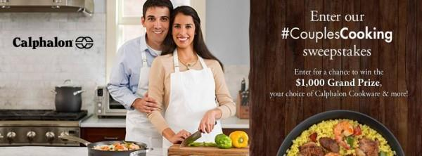 #CouplesCooking photo sweepstakes