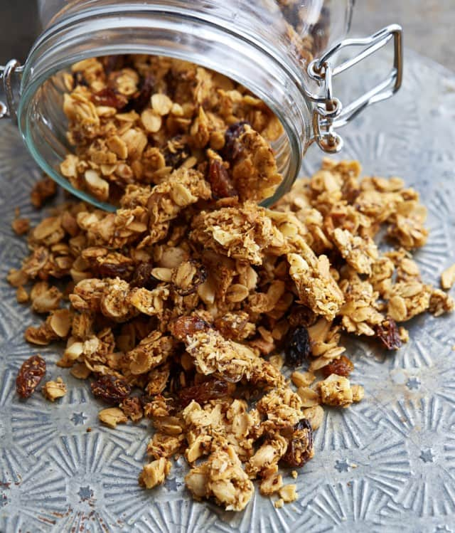 Curry Cashew Savory Granola From OATrageous Oatmeals