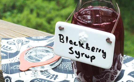 DIY Blackberry Syrup #vegan  #rootforveggies