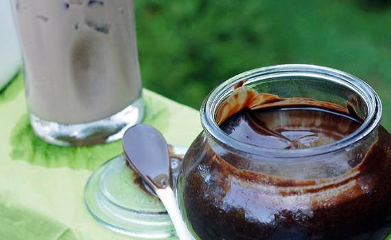 Homemade Chocolate Sauce with Organic Bison  Chocolate Stout