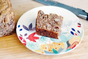 Vegan Whole Wheat Bourbon Banana Bread by Kathy Hester