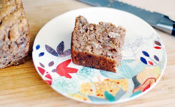 Vegan Whole Wheat Bourbon Banana Bread by Kathy Hester