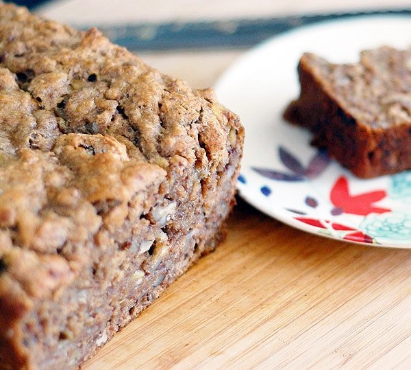 Whole Wheat Bourbon Banana Bread - Healthy Slow Cooking