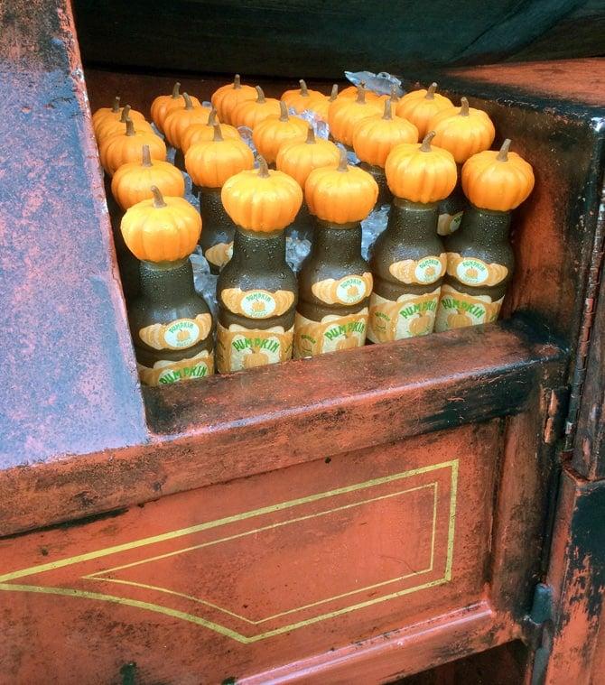 Diagon Alley and Homemade Pumpkin Juice