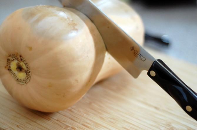 Vegan Autumn Fillo Pie with Butternut Squash from Healthy Slow Cooking #CutcoFallHarvest #fallrecipe