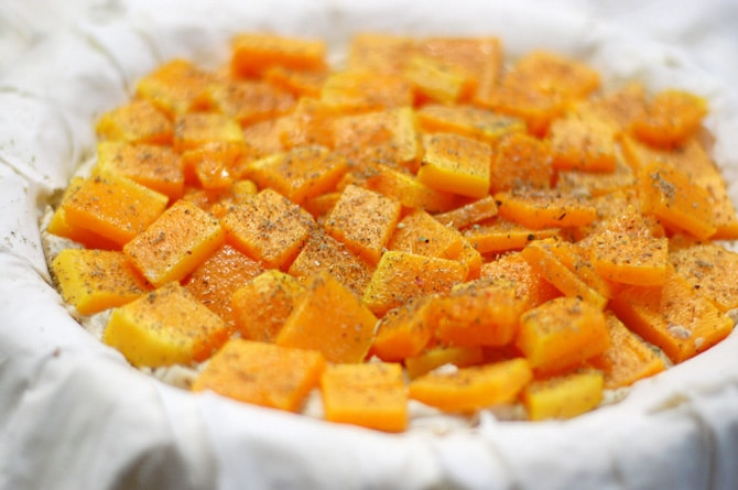Vegan Autumn Fillo Pie with Butternut Squash from Healthy Slow Cooking #CutcoFallHarvest #fallrecipe