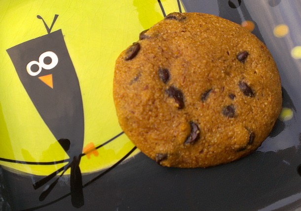 Whole Wheat Pumpkin Chocolate Chip Cookies from HealthySlowCooking.com