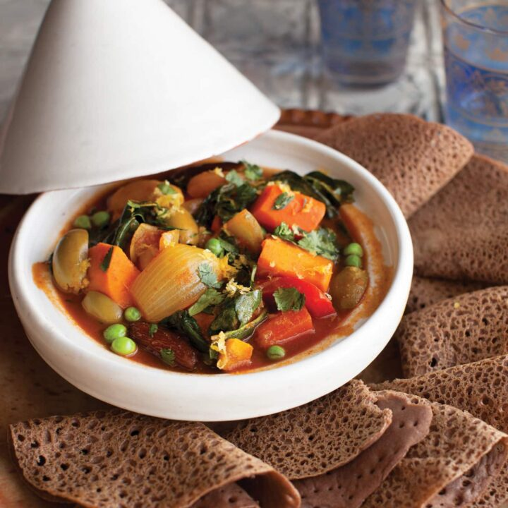 Vegetable Tangine from Vegan Without Borders