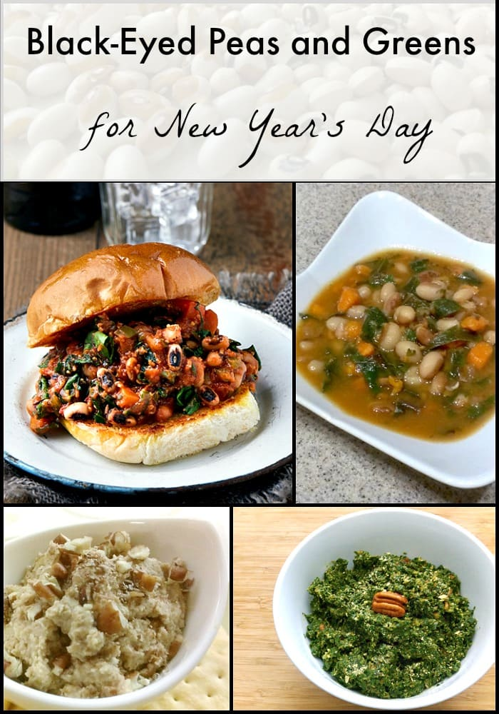 Black Eyed Pea and Greens Recipes for the New Year | Healthy Slow Cooking