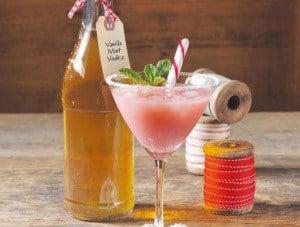 Vegan Food Gift: Vanilla Mint Vodka