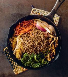 Terry Walter's Vegan Collard Green Sukiyaki