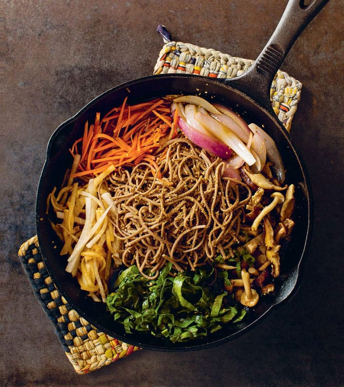Terry Walter's Collard Green Sukiyaki