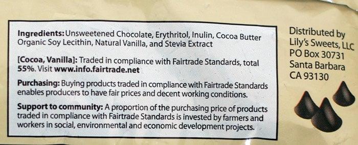 Stevia Chocolate Chip Shortbread