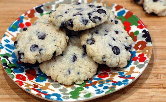 Stevia Chocolate Chip Shortbread