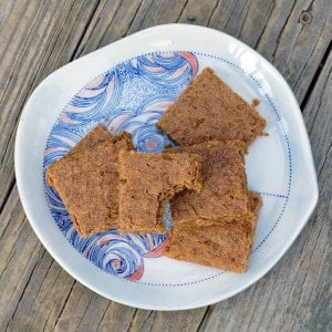 Vegan Whole Wheat Lemon Blondies