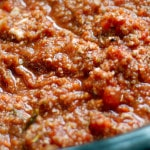 Slow Cooker Vegan Bolognese