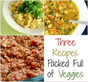It's All About the Vegetables: 3 Veggie-centric Recipes