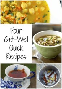 4 Recipes to Get You Through a Cold