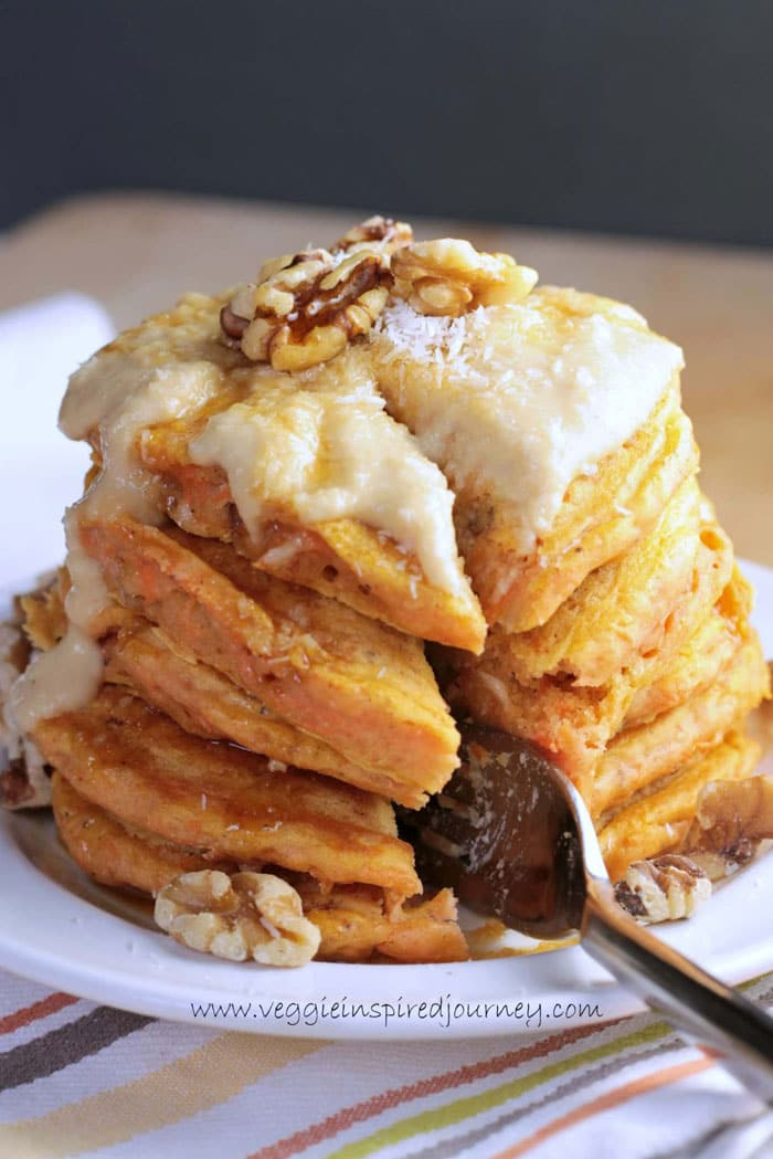 Carrot Cake Pancakes, WindowsillGardening and a Birthday