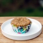 Vegan Whole Wheat Lemon Coconut Muffins