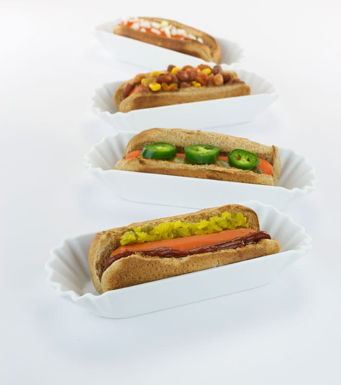All Natural Carrot Dogs from The Easy Vegan Cookbook | HealthySlowCooking.com