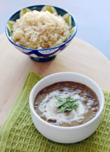 Vegan Slow Cooker Creamy Indian Lentils and Kidney Beans