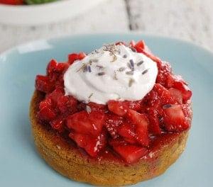 Vegan Strawberry Shortcake Recipe with Aquafaba!
