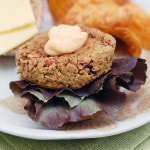 Avocado Chili Bean Veggie Burgers