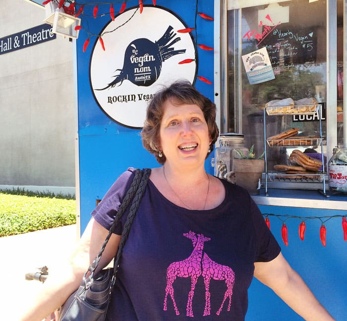 Susan Voisin of Fat Free Vegan