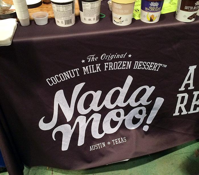 Nada Moo at the Vegan Bazaar