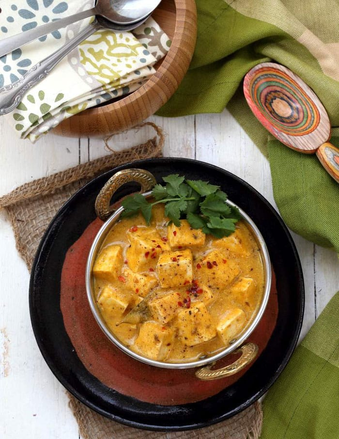 Mango Curry Tofu from Vegan Richa's Indian Kitchen | Healthy Slow Cooking