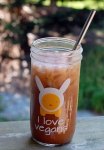 Iced Thai Tea Concentrate with Sweetened Condensed Coconut Milk