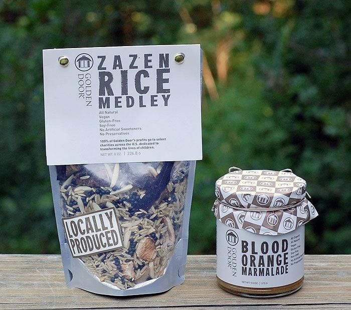 Golden Door Zazen Rice Salad with Baked Tofu   HealthySlowCooking.com @goldendoorspa @goldendoor @thegoldendoor