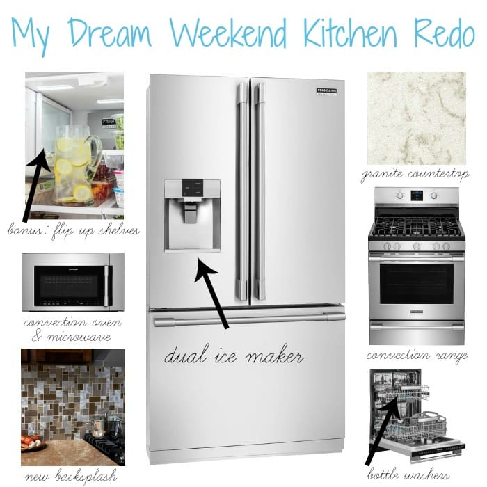 My Dream Kitchen Redo with Frigidaire Professional Collection