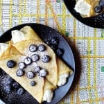 Vegan Blueberry Blintzes from Mastering the Art of Vegan Cooking