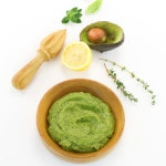 Easy Avocado Lemon Basil Pesto from The Easy Vegan Cookbook