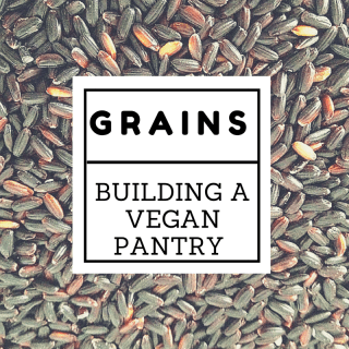 Building a Vegan Pantry with Grains