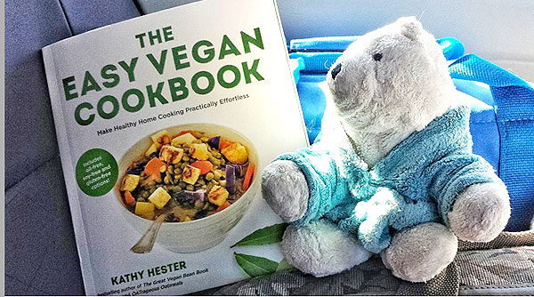 The Easy Vegan Cookbook and Charles