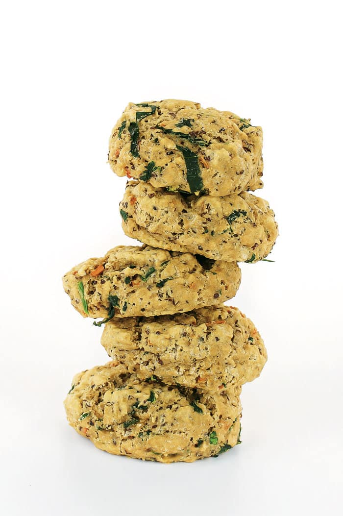Veggie Quinoa Drop Biscuit