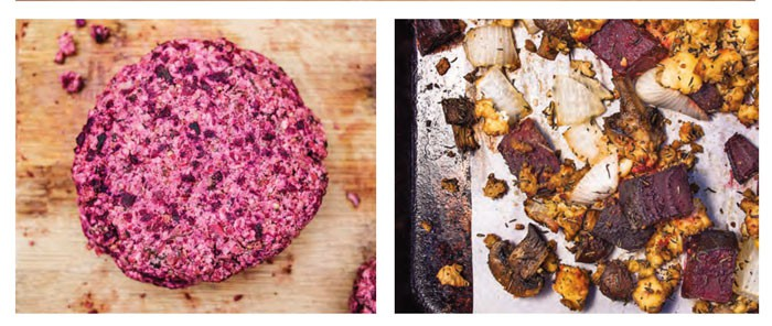 Eat Like You Give a Damn and Recipe for Beet Burgers