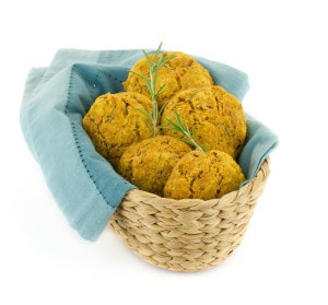Vegan Whole Wheat Pumpkin Drop Biscuits from The Easy Vegan Cookbook