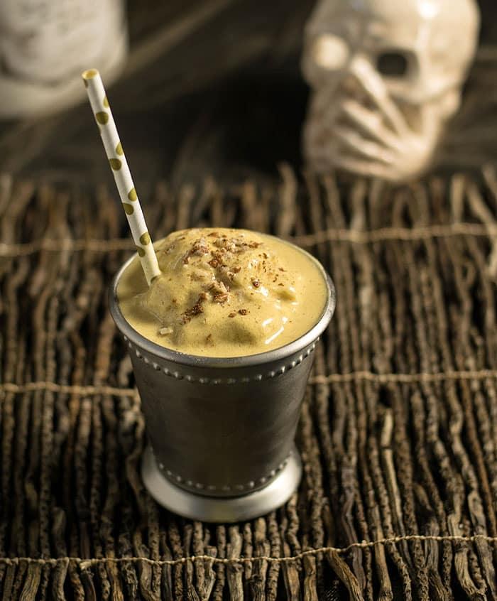 Petrifying Pecan Pumpkin Shake from The Ghoulish Gourmet