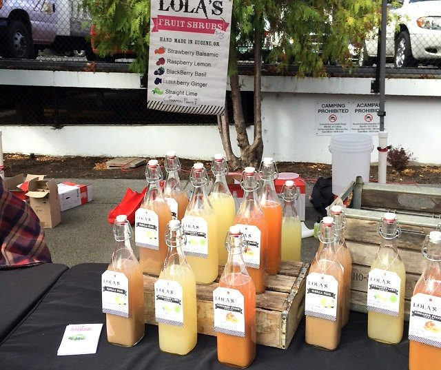 Lola's Shrubs at Eugene Farmers Market