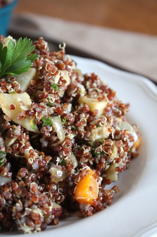 Squash & Celeriac Quinoa Stuffing from Fettle Vegan