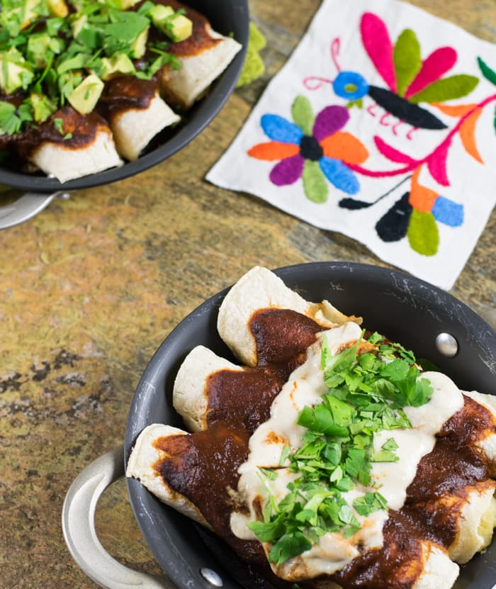 Vegan Potato Enchiladas and the 2015 Potato Harvest Tour