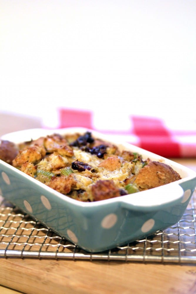 Julie Hasson's Thanksgiving Stuffing Casserole