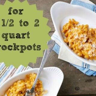 6 Vegan Slow Cooker Recipes for 2-Quart Crockpots
