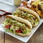 Artichoke Muffaleta Po' Boys from Cook the Book
